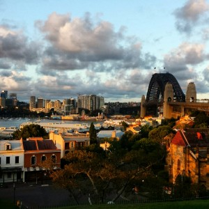'Rocks at 6pm' Tour - View from Observatory Hill